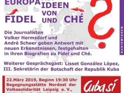 Leipzig: Europa mit Ideen von Fidel und Che?