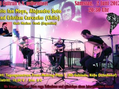Trio Ian Moya, Alejandro Soto & Cristian Carvacho