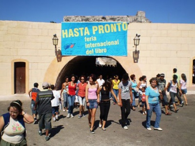 """Ausgang der Festungsanlage """"La Cabana"""""""