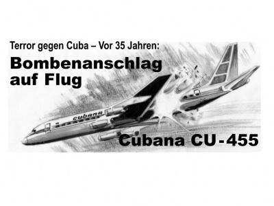 Gedenken: 35 Jahre Bombenattentat auf kubanisches Flugzeug