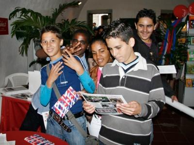 Wie in den vergangenen Jahren auch, erwarten wir wieder einen großen Anrang am Cuba Sí-Stand.