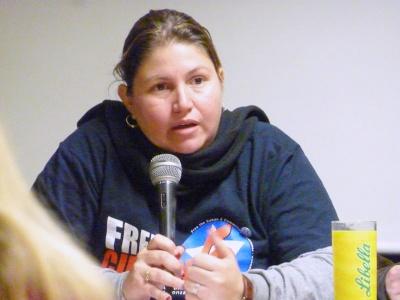 Gisleidy Sosa Cabrera vom Kommunistischen Jugendverband Kubas (UJC)