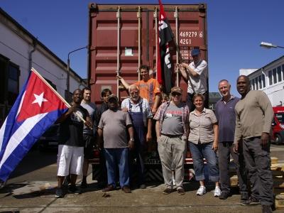 Bereits 377 Container für Kuba