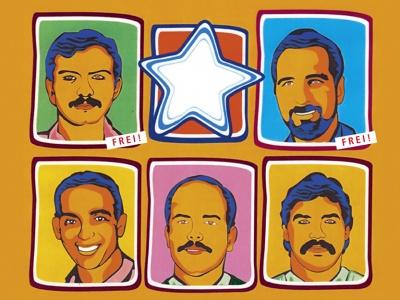 Freiheit für alle Cuban 5!