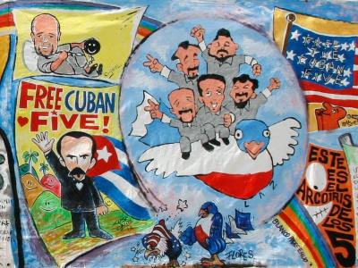 Weltweit fordern Menschen die Freilassung der 3 noch inhaftierten Cuban 5