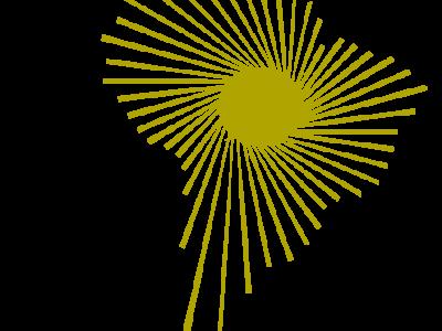 Symbol des Staatenbündnisses ALBA - die Integration Lateinamerikas und der Karibik
