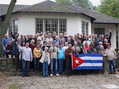 Eine bessere Welt ist möglich - die TeilnehmerInnen am Bundestreffen der AG Cuba Sí