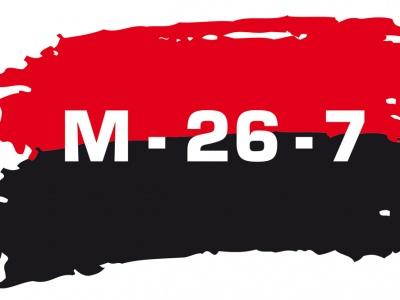 Logo der Bewegung 26. Juli - Tag des Sturms auf die Moncada-Kaserne