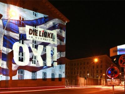 Ein klares Nein der griechischen Bevölkerung zur katastrophalen Kürzungspolitik! Foto: DIE LINKE