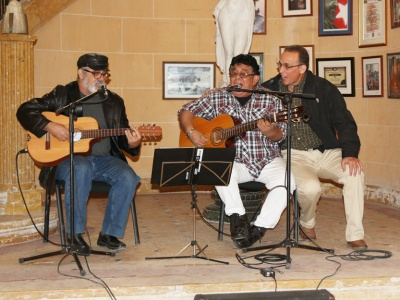 Pepe Ordaacute;s, Augusto Blanca und Antonio Guerrero