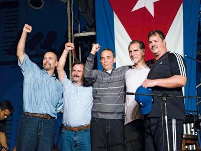 Die Heimkehr der Cuban 5 feiern und weiter solidarisch an Kubas Seite stehen - bei dieser Veranstaltung ist Gelegenheit zum Feiern und für Information.