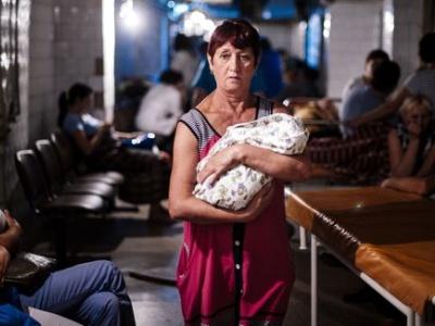 Solidaritätsaktion für das Kinderkrankenhaus Gorlovka in Donezk
