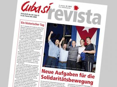 Titelseite der aktuellen Ausgabe 1/2015