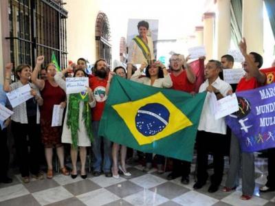 Solidaritätsveranstaltung im ICAP