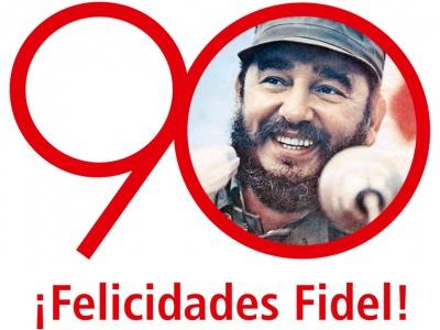 Fidel Castro- Herzlichen Glückwunsch zum 90.