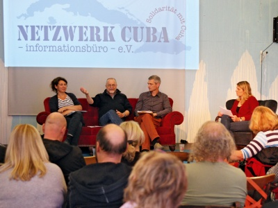 Natalie Benelli, Volker Hermsdorf und Tobias Kriele