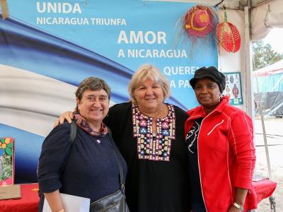 """Aleida Guevara auf dem Volksfest """"Manifiesta - Fest der Solidarität"""""""