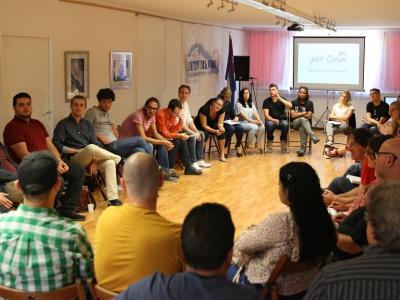 Diskussionsrunde auf der JuKo 2.0 in Bonn