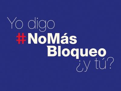 #NoMasBloqueo