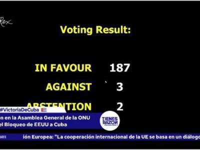 187 Stimmen für Kuba lassen die USA vor der Welt schlecht dastehen