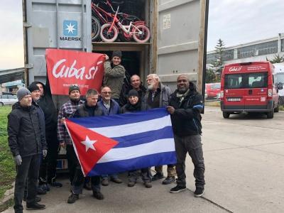 Fahrräder nach Kuba