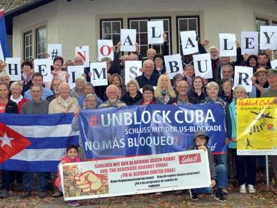 Regionalgruppentreffen der AG Cuba Sí verabschiedet Abschlusserklärung