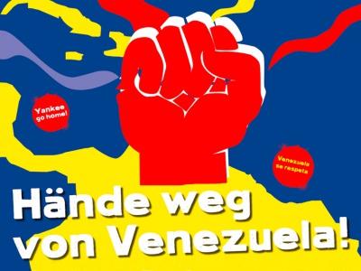 Kommt zur Venezuela-Veranstaltung in der Urania in Berlin!