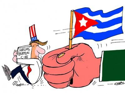 Basta Ya! Es reicht! Die US-Blockade gegen Cuba stoppen!