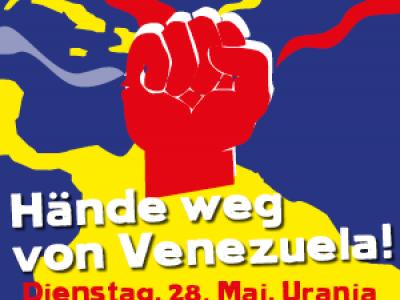 Große Solidaritätsveranstaltung für Venezuela