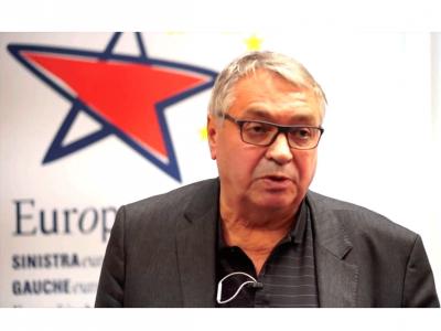 Heinz Bierbaum, Vorsitzender der Europäischen Linken, Foto: european-left