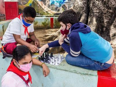 Die Jugend spielte am 11. Dezember 2020 bei den Feierlichkeiten zum Internationalen Tag der Menschenrechte in Kuba eine Hauptrolle. Foto: Enrique González Díaz Publicado, Juventud Rebelde, Galería General