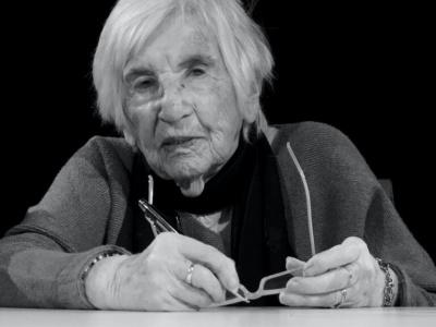 Esther Bejarano (1924-2021). Foto: Webseite VVN-BdA