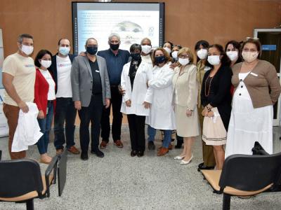 Beim Besuch des Präsidenten im Finlay Institut für Impfstoffe bestätigte sich, dass das Land die Kapazität besitzt, die kubanische Bevölkerung im ersten Halbjahr 2021 gegen das Virus SARS-COV-2 zu immunisieren. Photo: Estudio Revolución