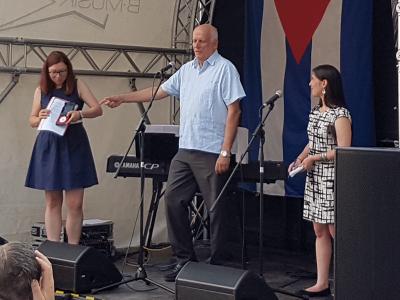 ICAP ehrt Cuba Sí mit der Freundschaftsmedaille