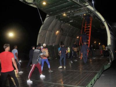 Eine AN-124 wird am 25. Juli 2021 in Havanna entladen. Foto: Ismael Batista Ramírez