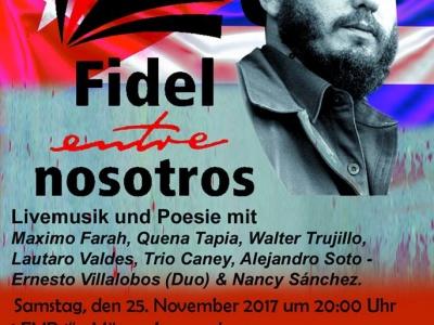 Berlin: Gedenken an Fidel