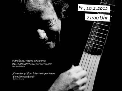 Berlin: Konzert mit Pablo Miró (ARG)