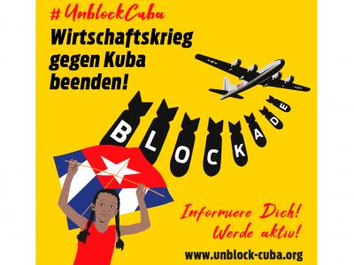 Aktion UNBLOCK CUBA