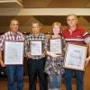 Auszeichnung der Cuba Sí Milchprojekte auf dem ACPA-Kongress 2009.