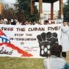 """Zu unseren politischen Zielen zählt auch der Kampf für die Befreiung der """"Cuban Five"""", die in der USA zu Unrecht inhaftiert wurden."""