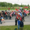Bei vielen Demonstrationen machen wir mit verbündeten Organisationen auf Kuba und die Ungerechtigkeiten der Blockadepolitik aufmerksam. Auch bei der Demo gegen den G8-Gipfel in Heiligendamm 2007 war Cuba Sí vertreten.
