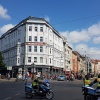 Korso passiert den Rosenthaler Platz