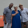 """Gäste des kubanischen Vereins """"Estrella de Cuba"""" mit unserer Fotografin Gabriele Senft. Foto: Cuba sí."""