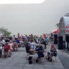 Die coronabedingt stark verkleinerte Fiesta de Solidaridad fand am 24. Juli 2021 im Innenhof des FMP1 (nd-Gebäude) statt. Neben dem Nationalfeiertag Kubas am 26. Juli beging unsere Arbeitsgemeinschaft das 30. Jubiläum ihrer Gründung. Foto: Cuba sí