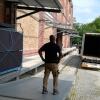 Der Container kommt!
