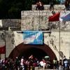 Der Eingang zur Festungsanlage.