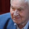 Hans Modrow bei der Buchpräsentation.