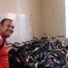 Container ist in Havanna angekommen und entladen.