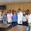"""18. März: Im Krankenhaus """"Agostinho Neto"""" in Guantánamo wurden wir durch die Direktion um Unterstützung gebeten. Foto: Cuba Sí"""