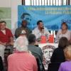 Debatte mit Vertretern des Netzwerks Cuba, moderiert von Harald Neuber.